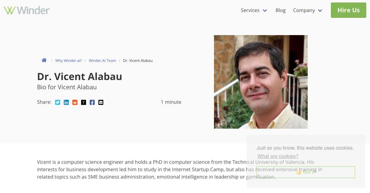 Dr. Vicent Alabau
