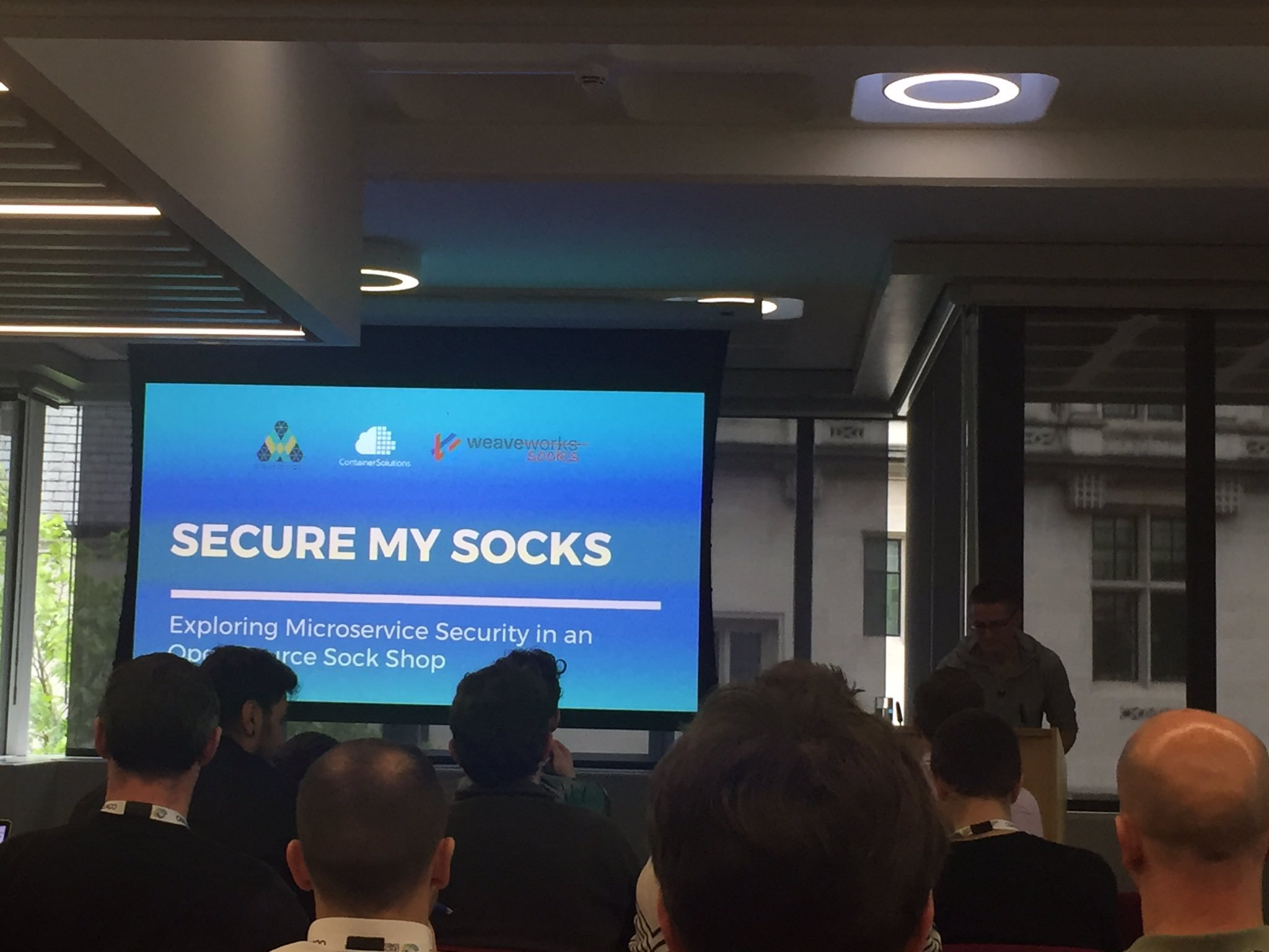 Secure my Socks: Exploring Microservice Security in an Open-Source